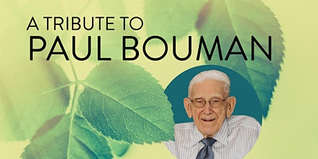 Oak Park Concert Chorale presents 'A TRIBUTE TO PAUL BOUMAN' tickets