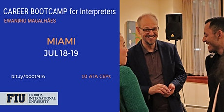 Career BOOTCAMP for Interpreters in Miami tickets