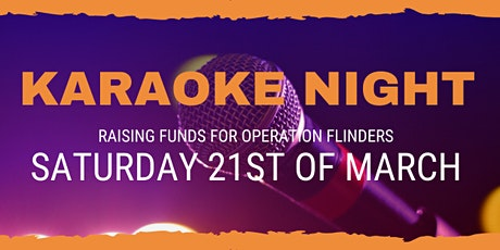 Karaoke Fundraiser for Operation Flinders tickets