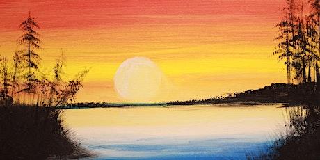 Chill & Paint Night  Auck City Hotel  - Golden Sunset tickets