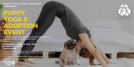 Puppy Yoga & Adoption Event tickets