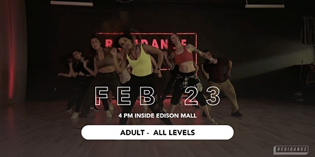 02/23 Urban Dance Class | Adult - All Levels | By RESIDANCE tickets
