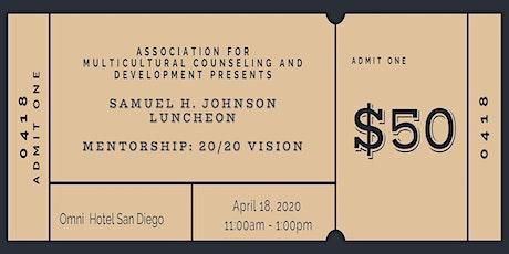 AMCD Samuel H. Johnson Luncheon tickets