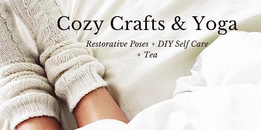 Cozy Crafts & Yoga