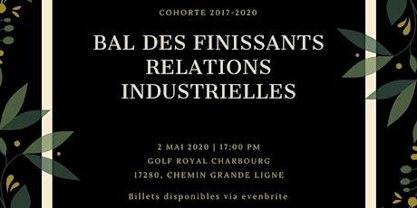 Bal des finissants relations industrielles 2020 billets
