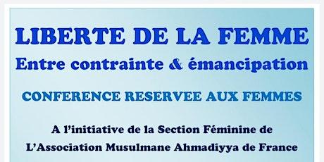 La Liberté de la Femme : entre contrainte et émancipation. billets