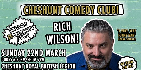Cheshunt Comedy Club Mothers Day Special With Rich Wilson! tickets