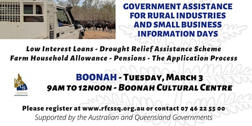 Boonah Government Assistance Information Day