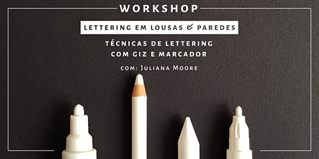 Lettering em Lousas e Paredes | Rio de Janeiro ingressos