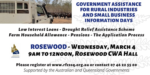 Rosewood Government Assistance Info Day