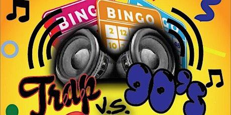 TRAP vs 90s BINGO tickets