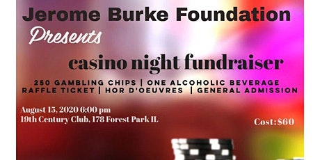 Jerome Burke Foundation Casino Night Fundraiser tickets