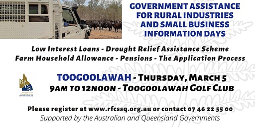 Toogoolawah Government Assistance Info Day