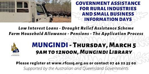 Mungindi Government Assistance Info Day