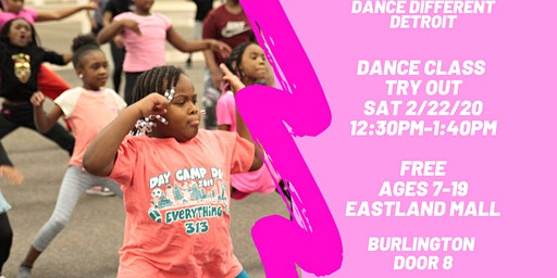 Free Dance Class Try Out Detroit