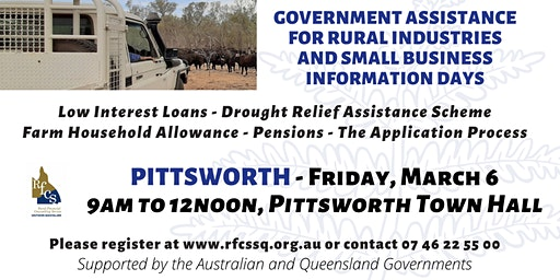 Pittsworth Government Assistance Info Day