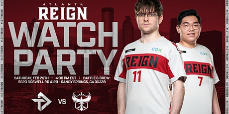 Atlanta Reign 2020 Opening Day Watch Party tickets