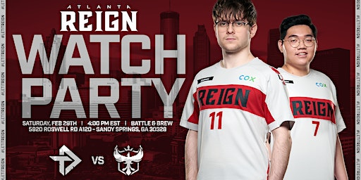 Atlanta Reign 2020 Opening Day Watch Party