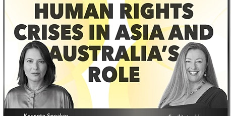 Human Rights Crises in Asia and Australia's Role tickets