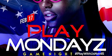 PLAYMONDAYZ | DMV HOTTEST GAMENIGHT tickets