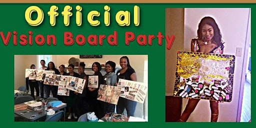 Official Vision Board Party