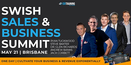 SWISH SALES & BUSINESS SUMMIT tickets