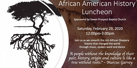 African American History Luncheon tickets
