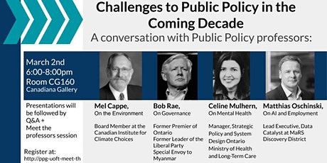 Meet the Professors- An Undergraduate Public Policy Event tickets