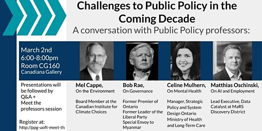 Meet the Professors- An Undergraduate Public Policy Event