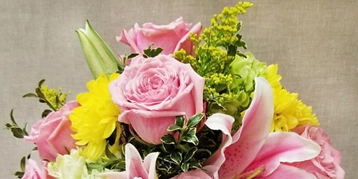 Make Your Own Spring Floral Centerpiece!