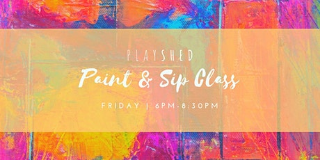 Paint & Sip Classes tickets