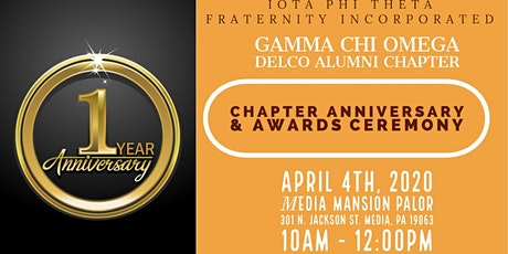 Gamma Chi Omega Chapter Anniversary & Awards Ceremony tickets