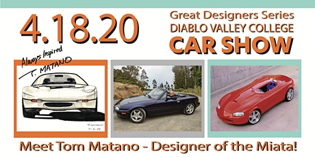Diablo Valley College CAR SHOW - Great Designers Series tickets