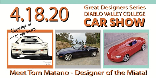 Diablo Valley College -  Great Designers Series CAR SHOW