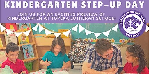 Topeka Lutheran's Kindergarten Step-Up Day