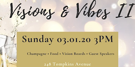 Visions And Vibes Vision Board Brunch tickets