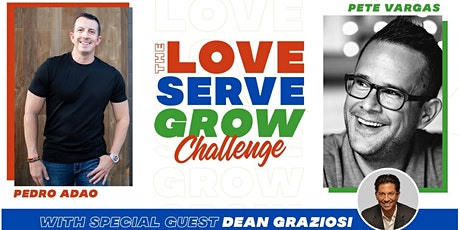 The LOVE•SERVE•GROW Challenge for current or aspiring Entrepreneurs bilhetes