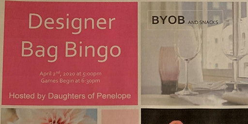 Designer Pocketbook Bingo