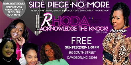 SIDE PIECE NO MORE 2020 Charlotte tickets