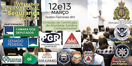 WISP 2020 - Workshop Internacional de Segurança Pública - Belo Horizonte/MG ingressos