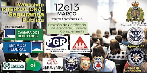 WISP 2020 - Workshop Internacional de Segurança Pública - Belo Horizonte/MG