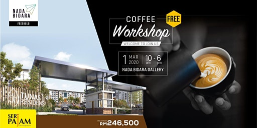 Free Coffee Workshop @ Nada Bidara Gallery