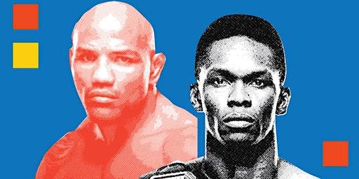 UFC 248 Israel Adesanya x Yoel Romero