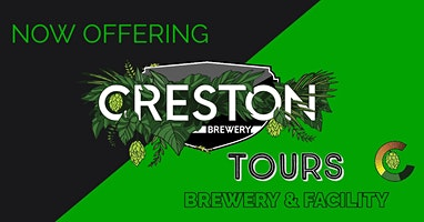 Creston Brewery Tours: Brewery and Facility Tour. Beer Sampling