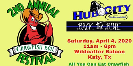 Thin Blue Line Crawfish Cookoff tickets