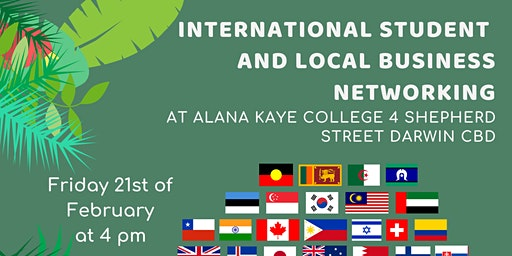International Student  & Local Business Networking