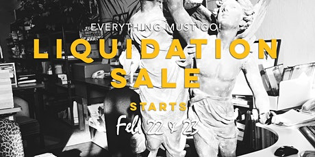 Pacifica, CA Liquidation Sale! tickets