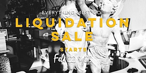Pacifica, CA Liquidation Sale!