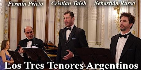 Los Tres Tenores Argentinos en el Palacio Paz - Galalírica entradas
