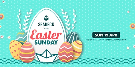 Seadeck Easter Sunday  Cruise - Sun 12th April tickets